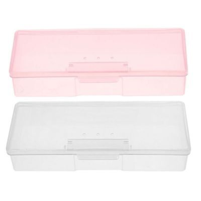 Art Small Organizer Holder Box Brush Case 1 Nail Empty Container Storage Pen