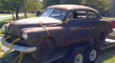 1950 Mercury Other  1950 mercury 2 door coupe Barn Find Lead Sled Rat Rod Ford Lincoln Street Rod