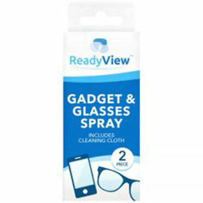 Ready View PC Gadget Tablet Phone Glasses lens Spray & Cleaning Cloth
