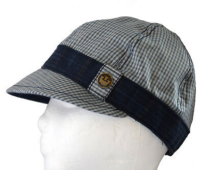 ec86f71630561 Goorin Brothers Distressed Plaid Newsboy Cabbie Bakerboy Cap Hat Size Small