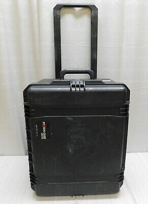 "Pelican Storm iM2750 Rolling Hard Case Black  22"" x 17"" x 12"" AS-IS"