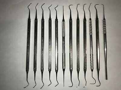 Dental Instruments, Used But In Very Good Condition, 12 Instruments For 1 Price