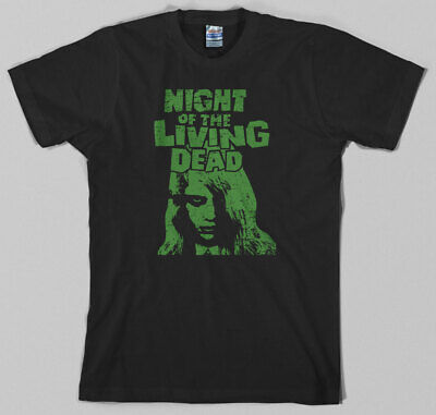 Night of the Living Dead T Shirt - george romero, zombie, dawn, day, horror