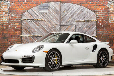 2015 Porsche 911 Turbo S 991 PDK 15 560 hp Auto AWD Premium Package Plus Heated Vented Seats Camera Nav PDCC PDLS