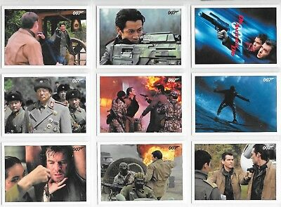 2017 James Bond Archives Final Edition 83 card DIE ANOTHER DAY Base Set +Wrapper
