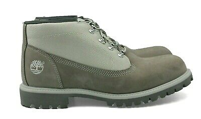 b082247c3ca9 TIMBERLAND Campsite Men s Nubuck Leather Boots - Grey - Size 11 - NEW  Authentic