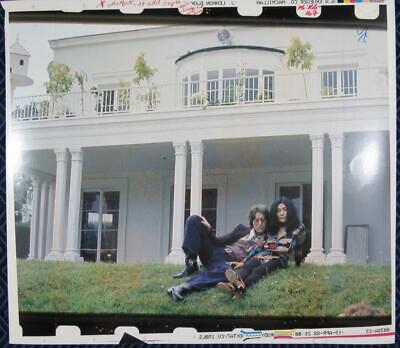 "John Lennon ""IMAGINE"" Book Published Photograph John and Yoko in Color"