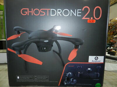 Ehang GhostDrone 2.0 VR Drone with 4k Ai Camera, Gimbal and VR Goggles, Controll