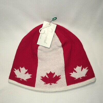Canada Beanie Winter Hats Dad Caps Red White Canadian Maple Leaf Hat T36 M9072