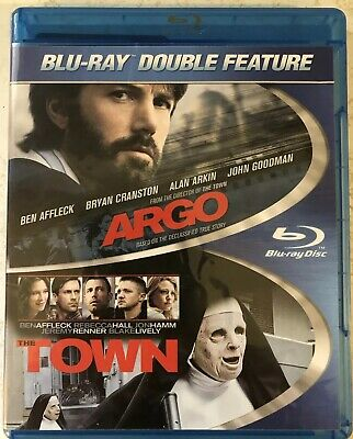 Argo / The Town (Blu-Ray). Ben Affleck. Double Feature. New. Free Shipping.