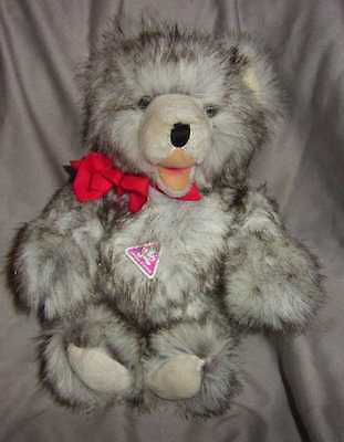 """Gorgeous,  German """"clemens' """"zotty"""" Bear With Original Tag, Great Condition"""