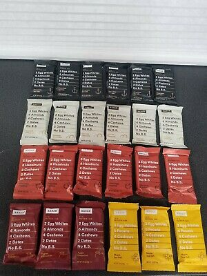 24 Pc RXBAR 12 G of Protein Bar Bars Assorted Variety Flavors Nutritional Bar ✅