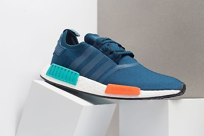 Mens Adidas NMD_R1 Blue White Red Green Black G26510