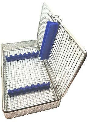 Stainless Steel Sterilization Cassette for 7 Pieces MESH Tray Box