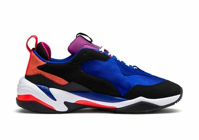 Mens Puma Thunder 4 Life Surf The Web Puma Blue Red White Black 369471-01