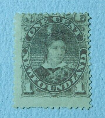 Canada Newfoundland 1880 1 cent Unused No Gum SG 44a
