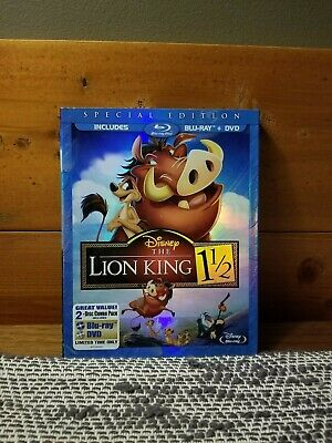 Disney The Lion King 1 1/2 (Blu-ray/DVD, 2012, 2-Disc Set, Special Edition)