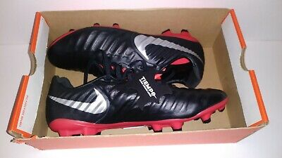 d5886367d Nike Tiempo Legend 7 Pro FG Soccer Cleats Black Silver Red AH7241-006 Men's  NEW