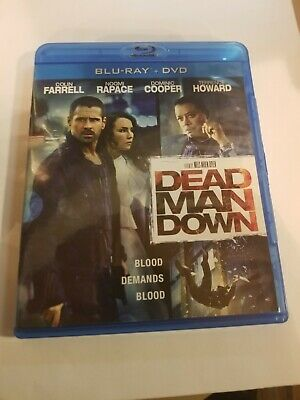 Dead Man Down (Blu-ray/DVD, 2013, 2-Disc Set) With Slipcover  In Very Good Cond