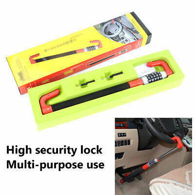 Red Car Van Security Device Clutch Lock Car Steering Wheel Lock Anti Theft