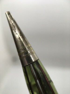 Vintage Restored Wahl Eversharp Green Marbled Mechanical Pencil