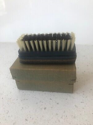Shoe Brush Grooming Kit Polish Collectable Leather Collectable Vintage Antique