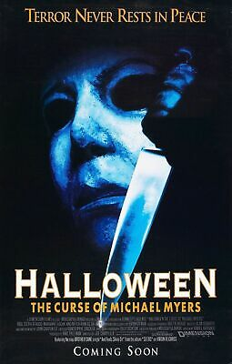 HALLOWEEN 6 The Curse of Michael Myers Movie Art Silk Poster 8x12inch