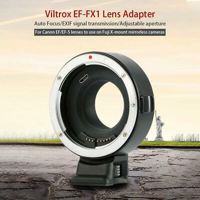 VILTROX EF-FX1 Auto focus Lens Mount Adapter for Canon EF/EF-S to Fuji Camera