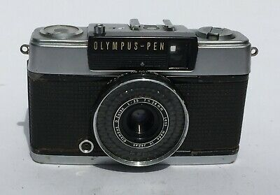 Olympus-Pen EE-2 35mm camera with 1:3.5 f=2.8 mm lens