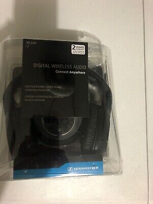 Sennheiser RS 160 KLEER Digital Wireless Headphones Transmitter 502873 Headset
