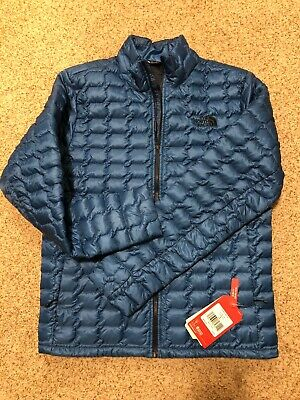 The North Face Thermoball Jacket Medium Heron Blue New NWT