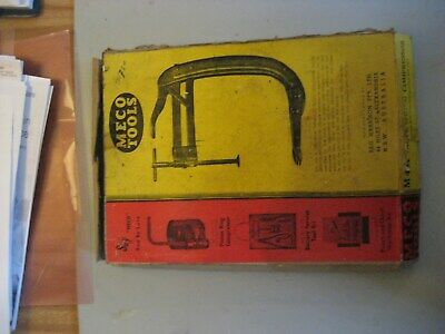 Vintage Valve Spring Compressor Tool, 'Meco' M104. Aust. Made, In Box, Used