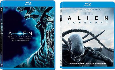 Alien Quadrilogy & Alien Covenant 5-Film Collection Blu-ray Brand NEW 1 2 3 4 5