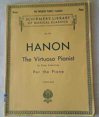 Hanon The Virtuoso Pianist In Sixty Exercises For The Piano Vol. 925