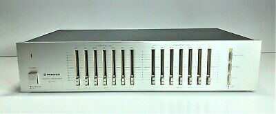 Vintage Pioneer Graphic Equalizer Sg-300 | Working 100% | Includes Manual 1981