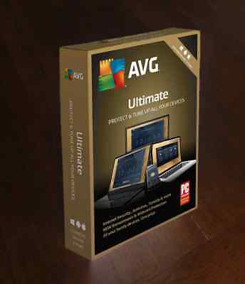 Avg Ultimate  2 Years Unlimited Users  -  Worldwide Aktivation - Newest Version