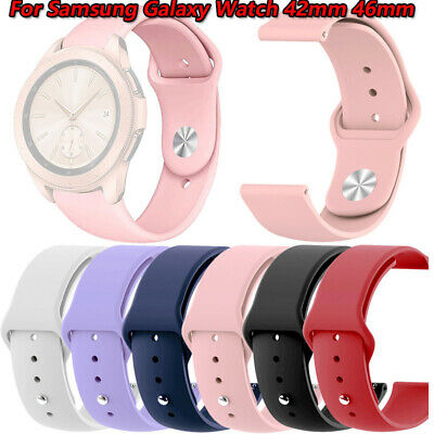 New Sports Replacement Watch Band Wrist Strap For Samsung Galaxy Watch 42mm 46mm