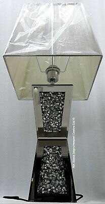 Scintillant Lampe 7yfvgb6y Carré Diamant Copié Table Gros Ecrasement De dtshQCr