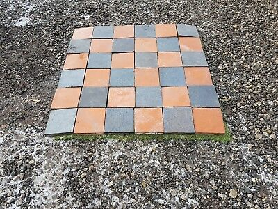 Quarry Tiles 6X6  1 Inche Thick Staffordshire Blues And Red