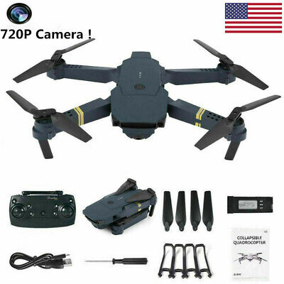 USA Drone x pro 2.4G Selfi WIFI FPV w/ 720P HD Camera Foldable RC Quadcopter Toy