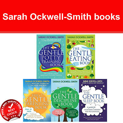 Sarah Ockwell-Smith collection books set Gentle Sleep, Discipline, Parenting