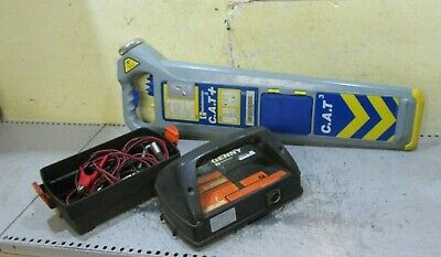 CAT 3 + Cable avoidance tool & Genny 2 Detector scanner locator pipe fully calib