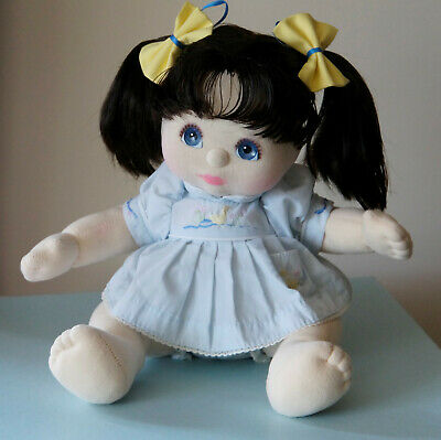 Mattel My Child Doll brunette Dressed Original Blue Ducky Dress