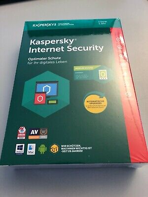 KASPERSKY INTERNET SECURITY 2019 | VOLLVERSION | KEY PER MAIL | 1,3,5,10 Geräte