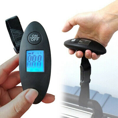 5d39d69f02f4 40KG MINI DIGITAL Travel Portable Handheld Weighing Luggage Scales ...