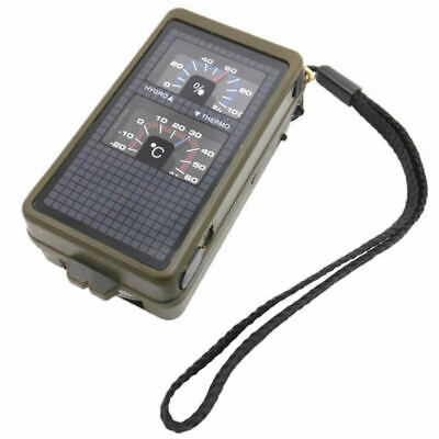 10 in 1 Multifunction Survival Military Hiking Camping Compass Tool Kit