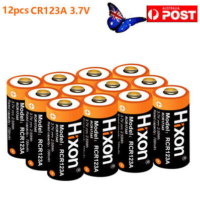 RCR123A UL Protected 3.7V Li-ion Rechargeable Batteries For Arlo&Reolink Camera