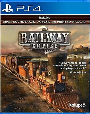 Railway Empire Asia Simplified Chinese/English subtitle PS4 BRAND NEW