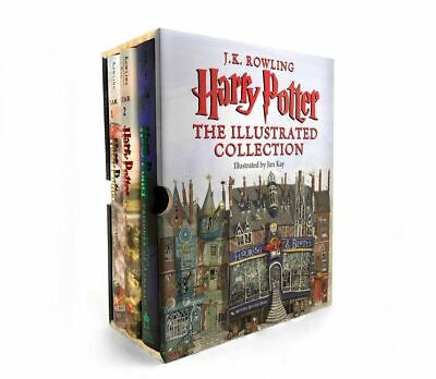 Harry Potter The Illustrated Collection  J K / Kay,Jim Rowling 2018, Book