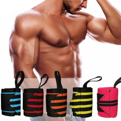 DAM Wrist Support Wrap Wraps Weight Lifting Bodybuilding BY DAM THE REAL POWER